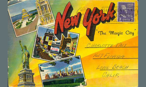 Vintage Postcard - New York