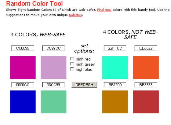 Random Color Tool