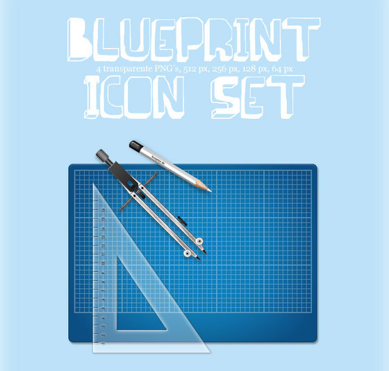 Blueprint Icon Set