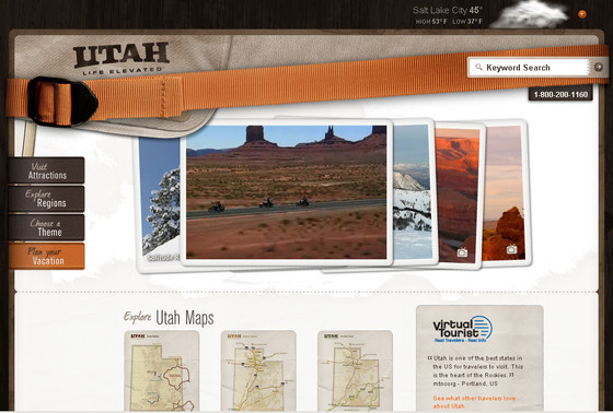 Utah Travel Utah Maps