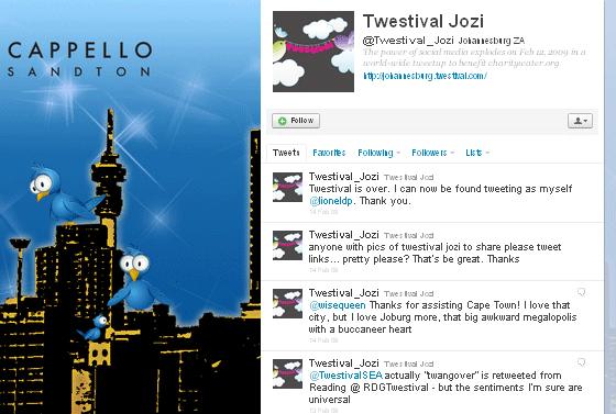 Twestival Jozi