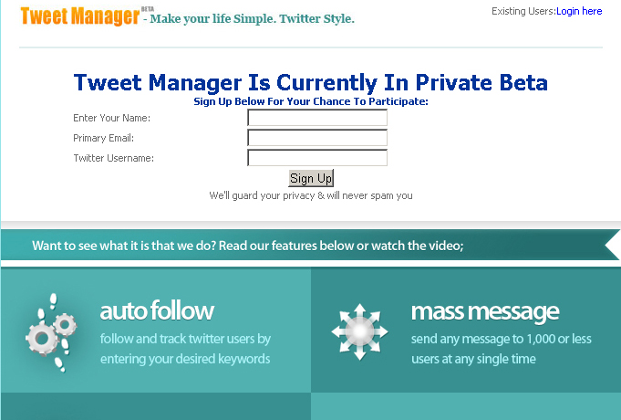 TweetManager