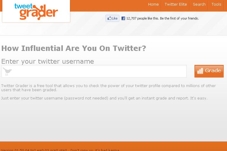 TwitterGrader
