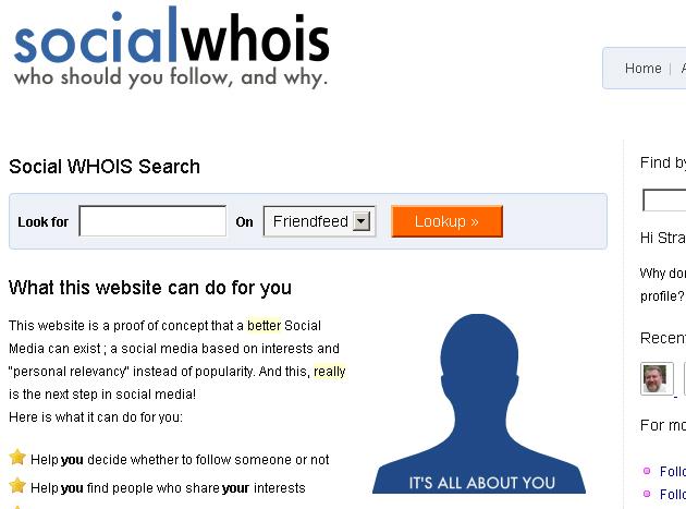 Social WhoIs