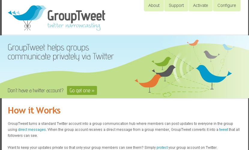 GroupTweet