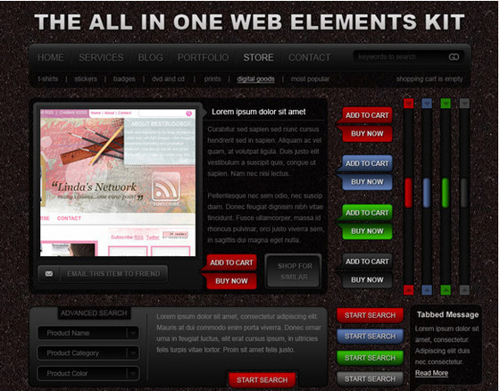All In One Web Elements Kit