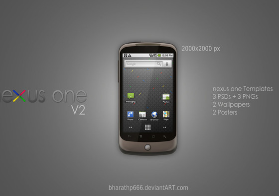 Google nexus one V2 Templates