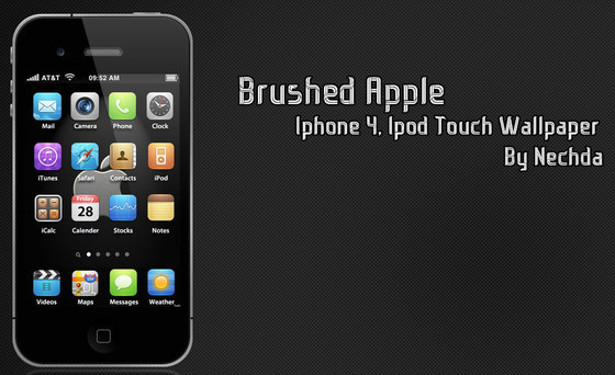Itouch 4 Brushed Apple