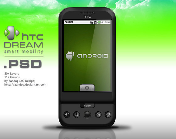 HTC G1 Dream Smartphone
