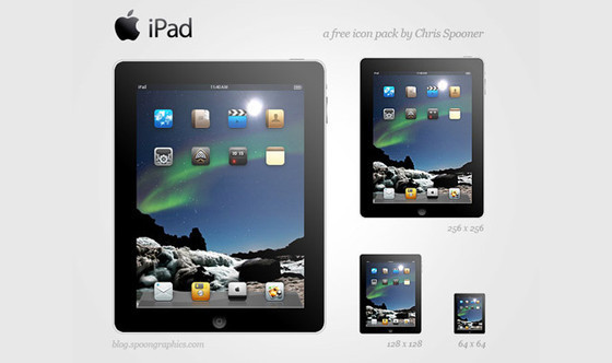 Free Apple iPad Icon Set