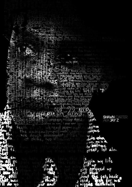 Jay Z Typography