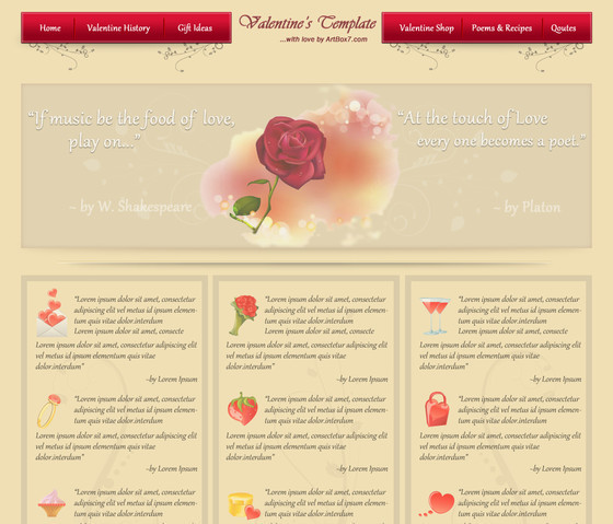 Create a Valentine's Day Layout