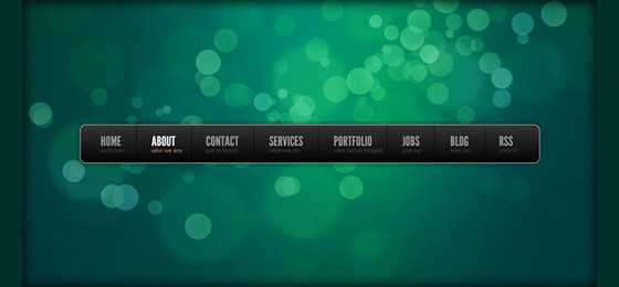 How To Create a Stylish Navigation Bar In Adobe Fireworks