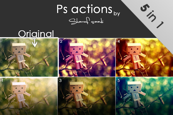 Photoshop actions 4