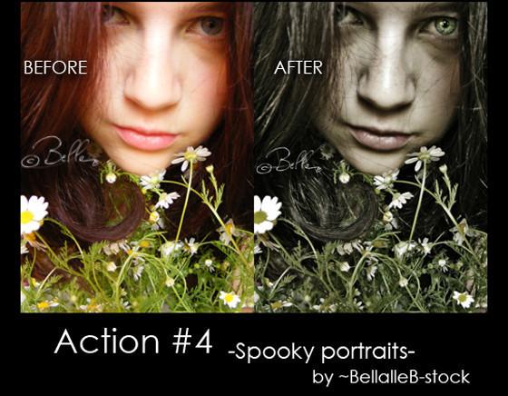 Spooky portraits