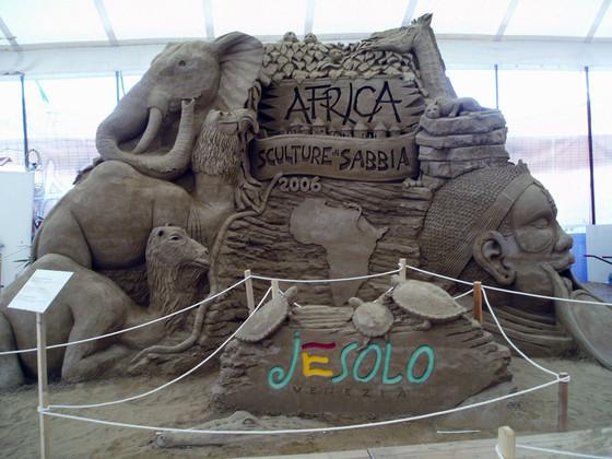 sand sculptures jesolo III