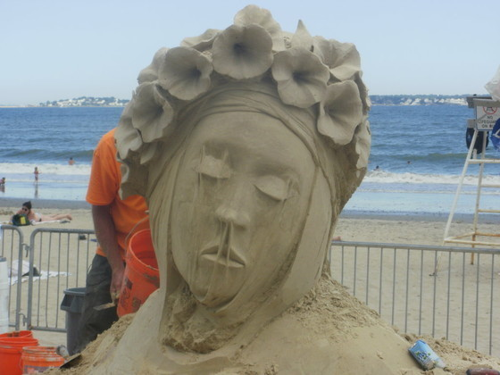 Sand Geisha