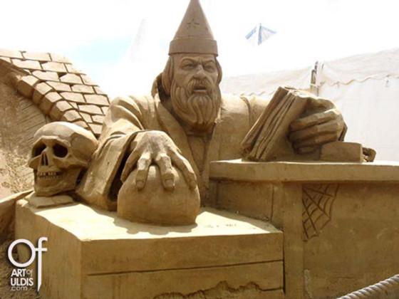 Sand sculpture DE-07-1 Uldis Zarins