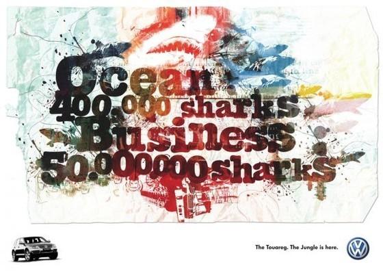 Volkswagen Touareg: Sharks