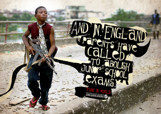 Coalition to Stop the Use of Child Soldiers: England