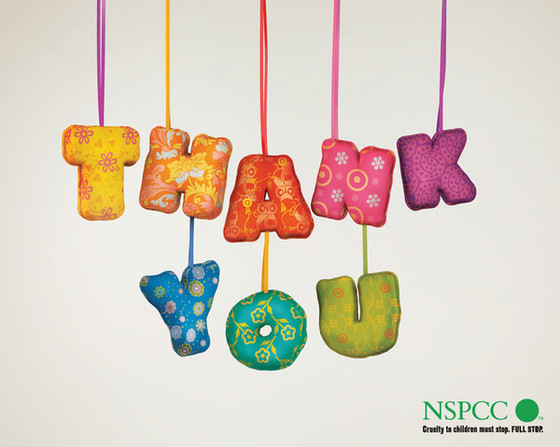 NSPCC Thank You