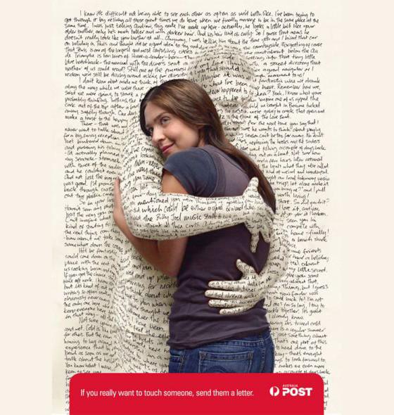 Australia Post: Hug