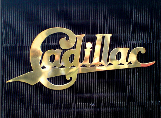 Vintage Cadillac Badge