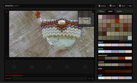 PHOTOCOPA : Your Photos as Color Palettes