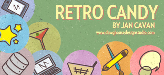 Retro Candy: Free Icon Set