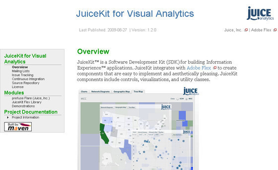 JuiceKit for Visual Analytics