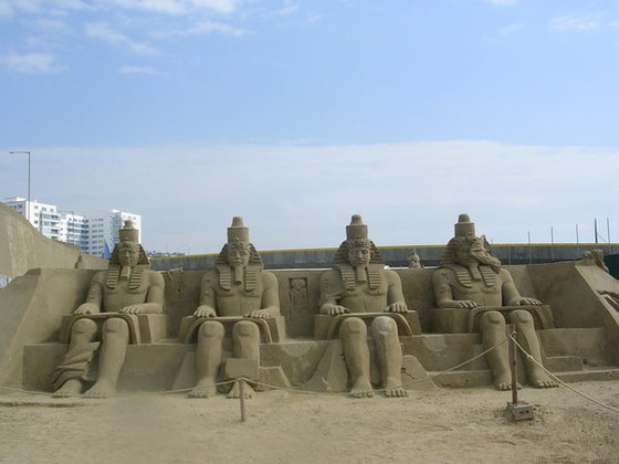 Egyptian sand sculptures II